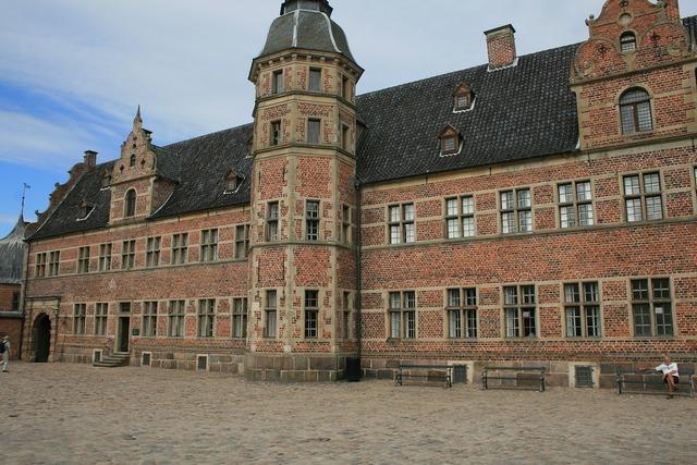 Denmark castle building, architecture buildings.
