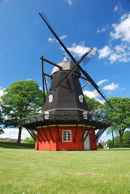 Denmark copenhagen mill.