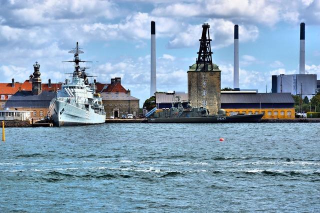 Denmark copenhagen port.