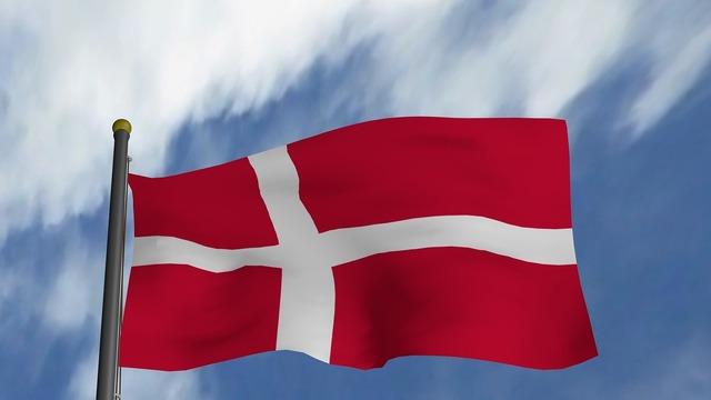 Denmark flag danish, travel vacation.