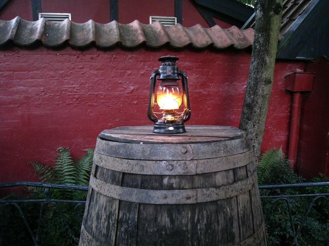 Denmark tivoli lamp.