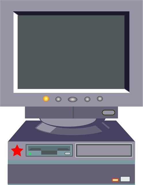Desktop computer pc technology, science technology.