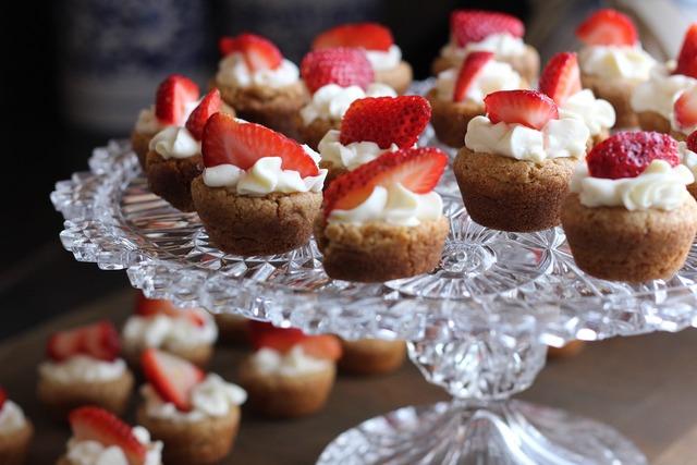 Dessert strawberry tart, food drink.