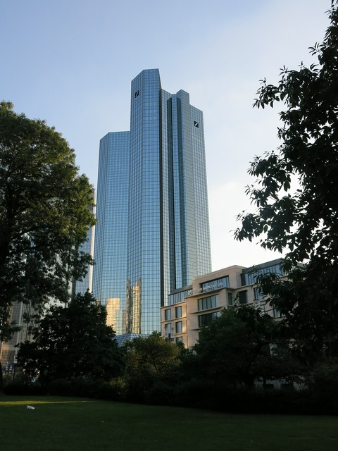 Deutsche bank frankfurt bank building, architecture buildings.