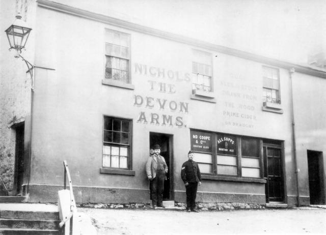 Devon arms pub park lane steps torquay devon uk.