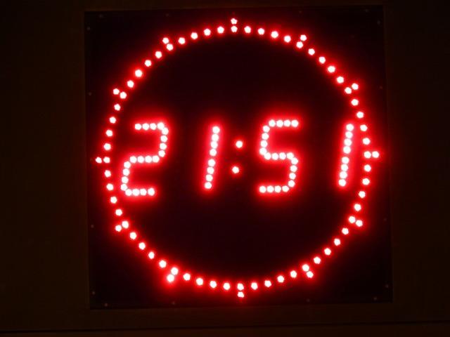Digital clock clock digital.