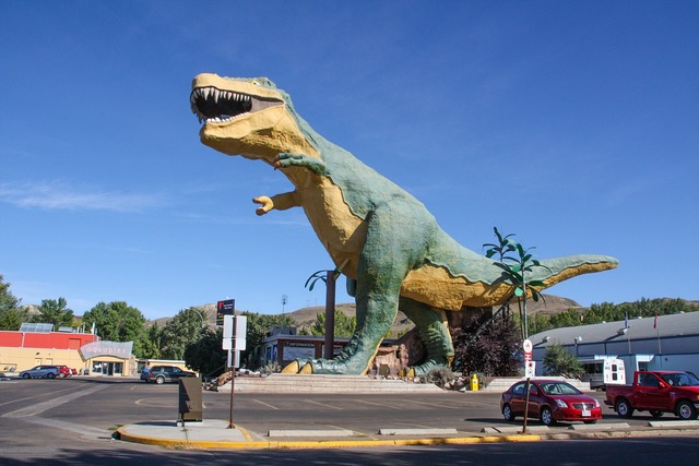 Dinosaur drumheller canada.