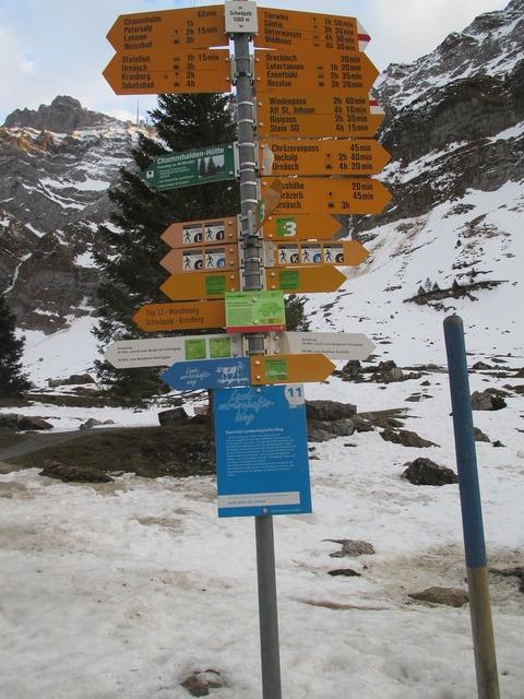 Directory signposts shield.