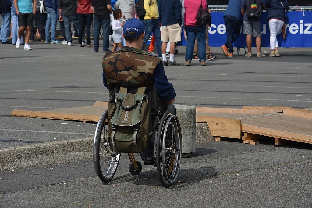 Disabled handicap wheelchair, health medical.