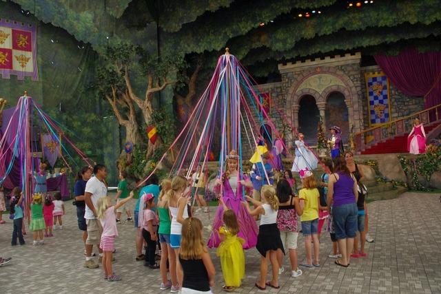 Disney maypole children.
