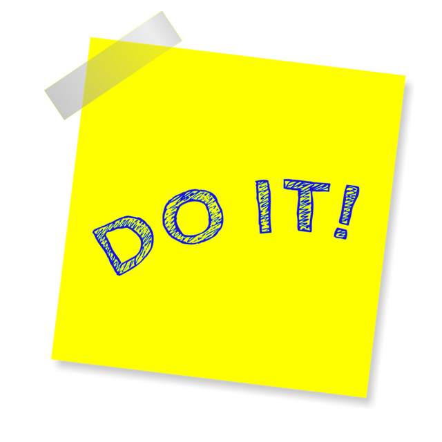 Do it note reminder.