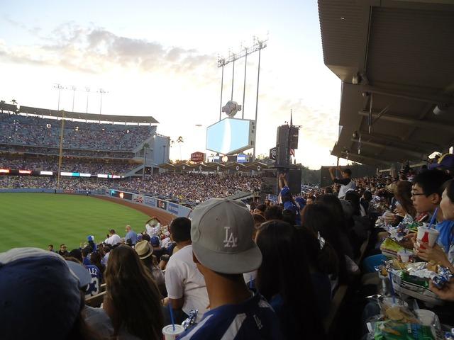 Dodgers baseball stadium baseball, sports.