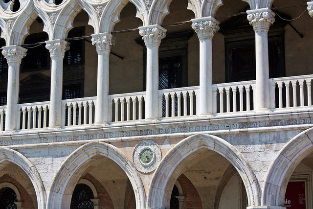 Doge's palace venice italy, architecture buildings.