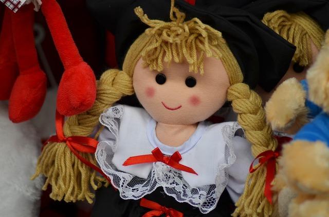 Doll alsace alsatian doll.