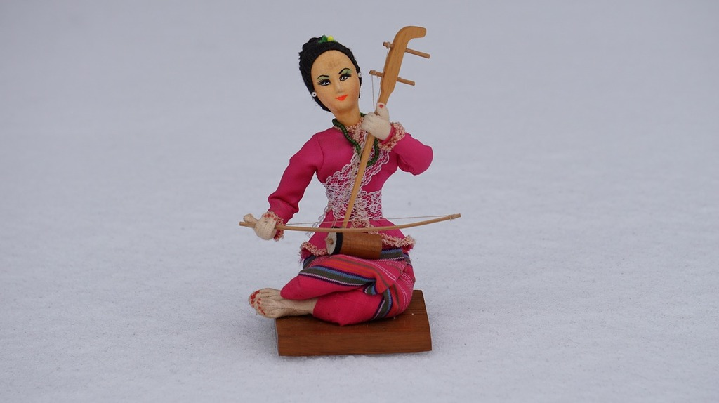 Doll toys puppet, music.