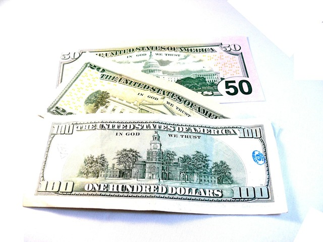 Dollar 100 50, business finance.