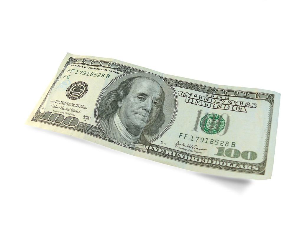 Dollar 100 dollars, business finance.