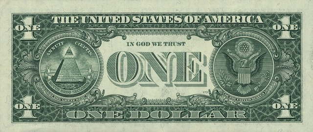 Dollar banknote united states, business finance.