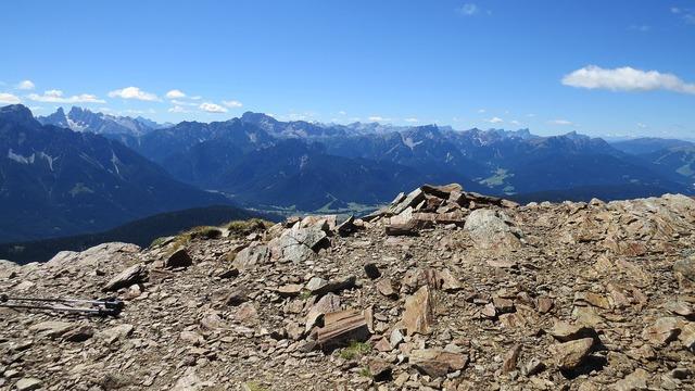 Dolomites mountains south tyrol.