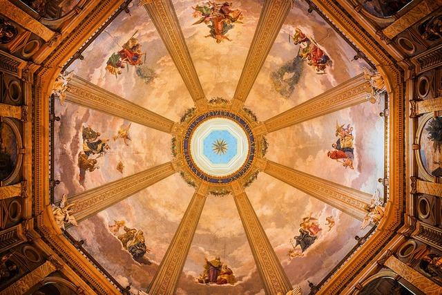 Dom church dome, religion.