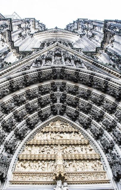 Dom portal cologne, architecture buildings.