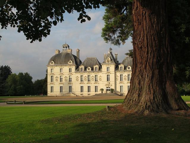 Domaine de cheverny loire castle france.