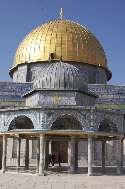 Dome of the rock islam jerusalem, religion.