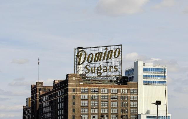 Domino sugars baltimore harbor, architecture buildings.
