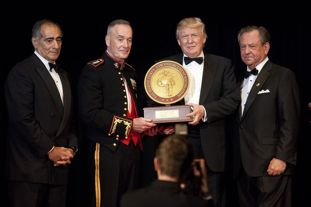 Donald trump john marine corps foundation commandants.