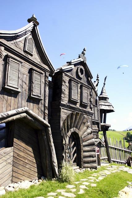 Donovaly habakuky slovakia, architecture buildings.