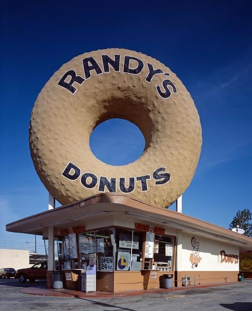Donut doughnut randy's donuts, music.