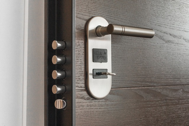 Door accessibility lock, business finance.