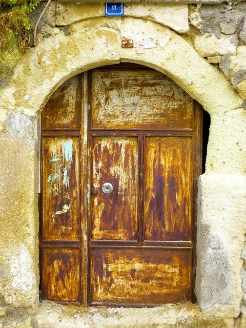 Door goal house entrance.
