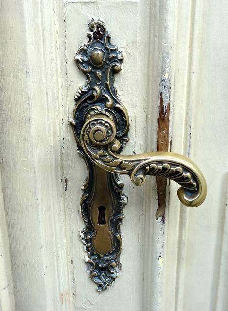 Door handle door macro.