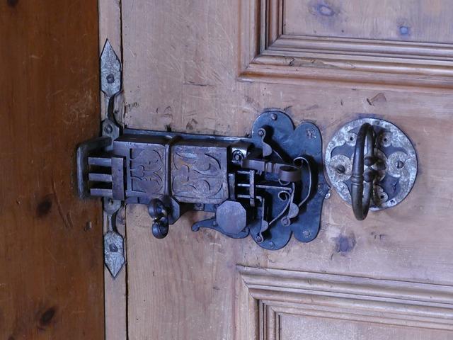 Door lock door closure.