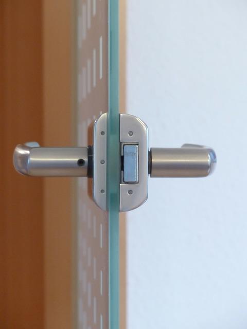 Door lock door door knob.