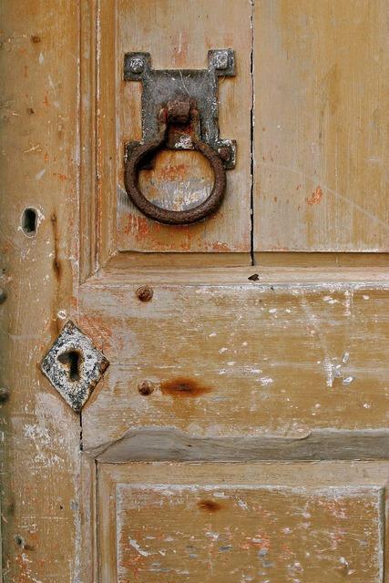 Door old textured, architecture buildings.