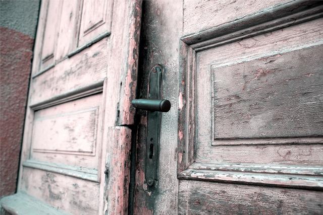 Door old wood, architecture buildings.