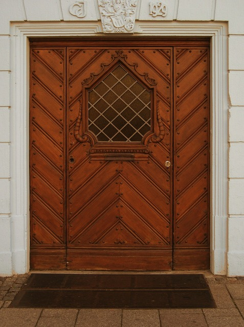 Door portal entrance door, architecture buildings.