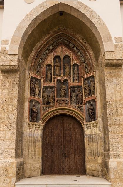 Door saints catholic, religion.