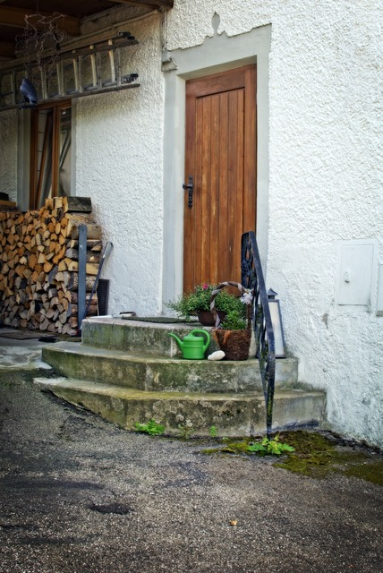 Door stairs input, architecture buildings.