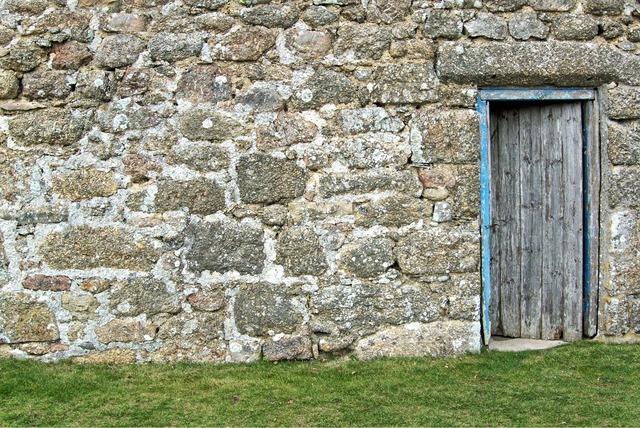 Door wall old, architecture buildings.