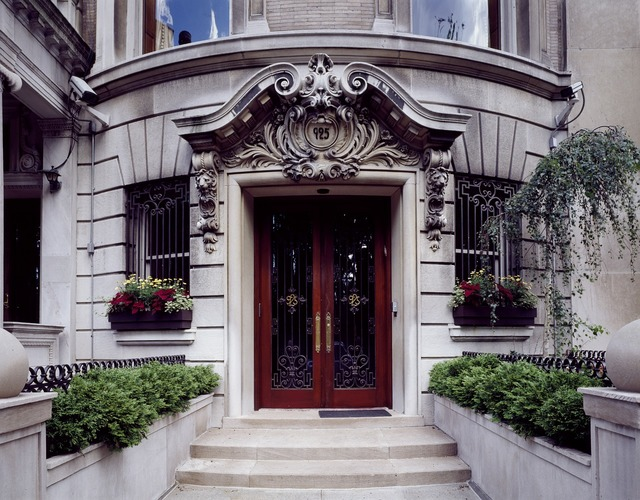 Doorway residence new york city, architecture buildings.