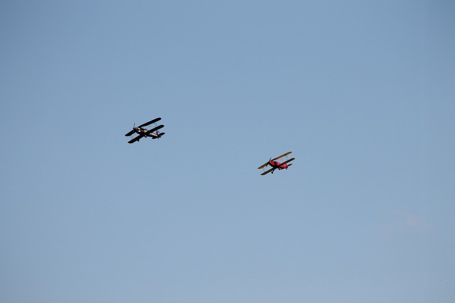 Double decker aerobatics aircraft.