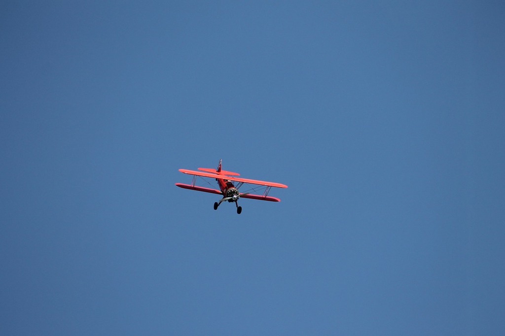 Double decker flugshow flyer.