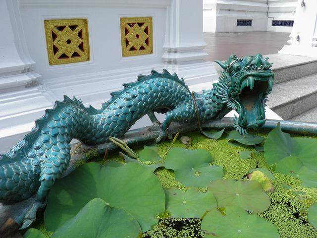 Dragon lotus pond.