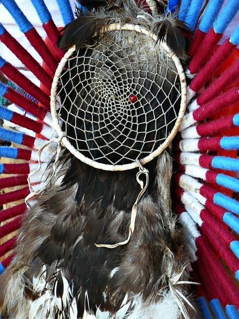 Dreamcatcher feather plume.