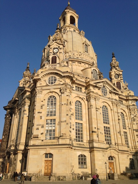 Dresden places of interest monument, architecture buildings.