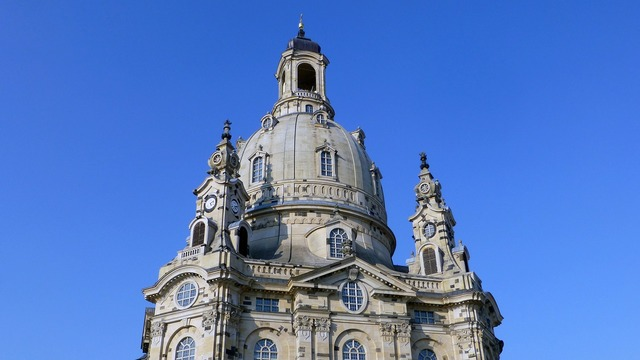 Dresden saxony frauenkirche, architecture buildings.