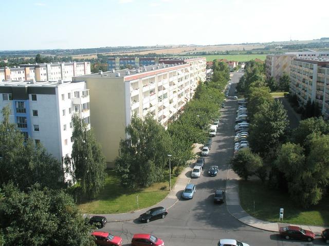 Dresden zschertnitz bird's eye view.
